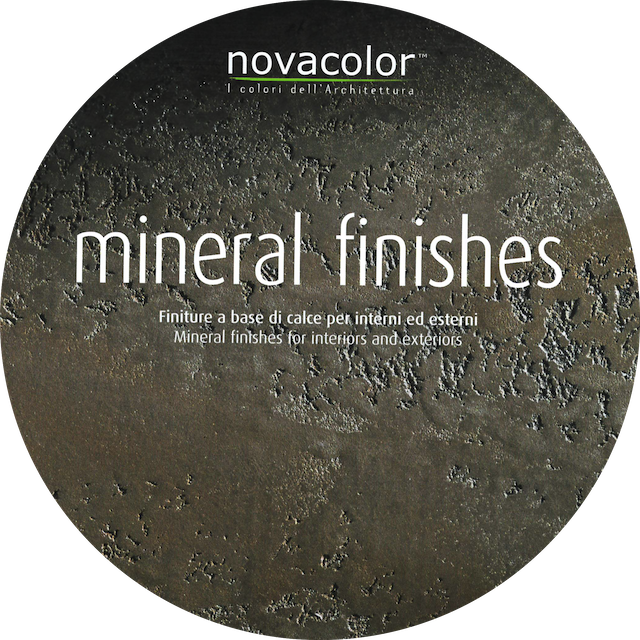 COLOR CARD MINERAL FINISHES