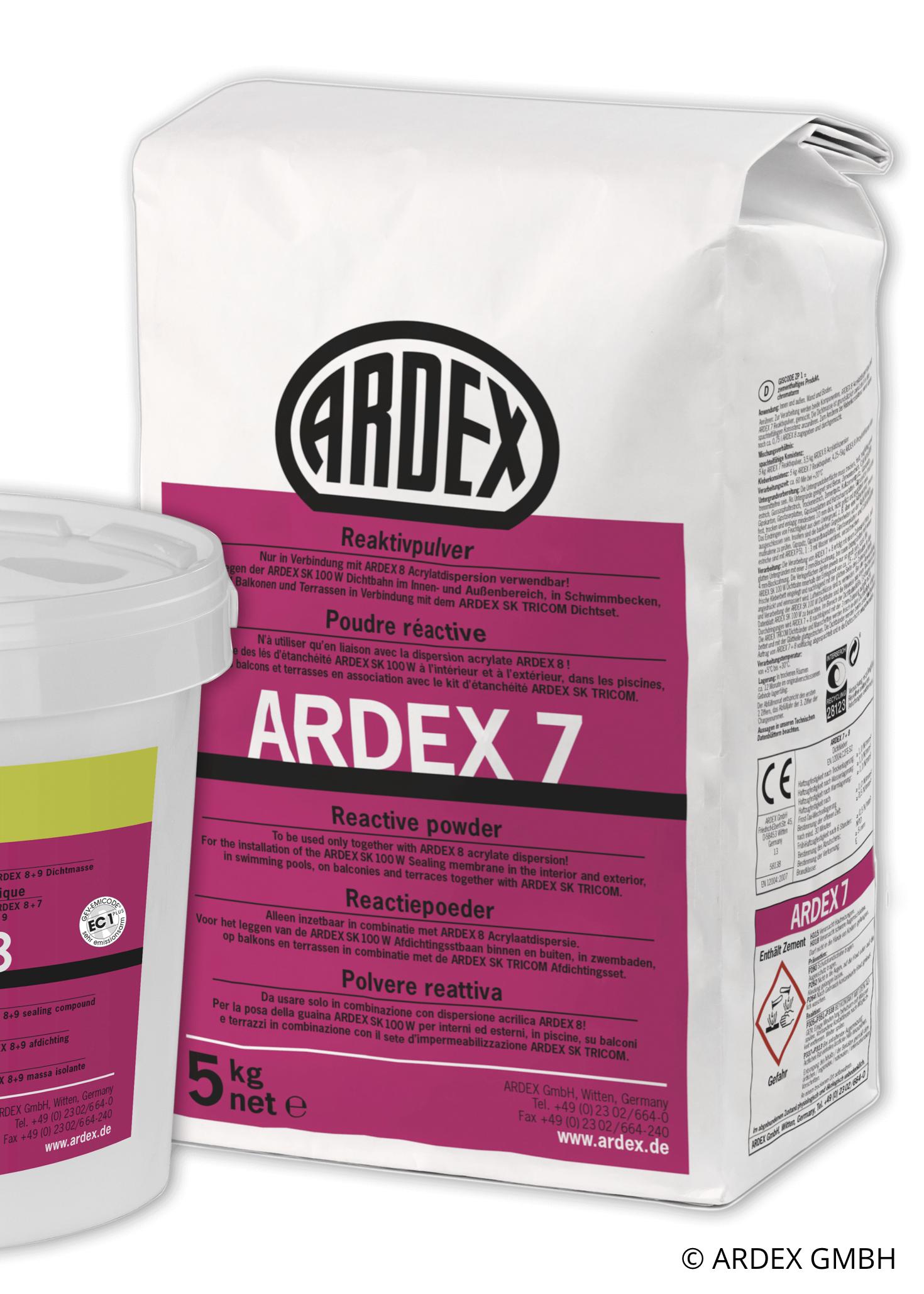 ARDEX 7 REAKTIVPULVER